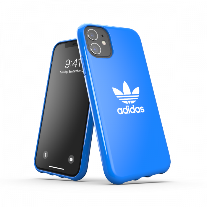 Adidas Glossy Snap Case Blue for iPhone