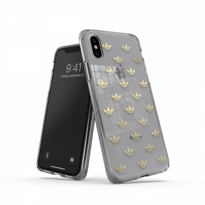 Trefoil Clear Case for iPhone X/Xs