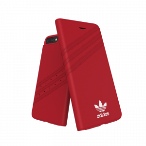 3-Stripes Booklet Case for iPhone 6/6S/7/8 Plus