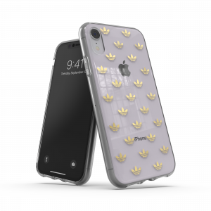 Trefoil Clear Case for iPhone XR