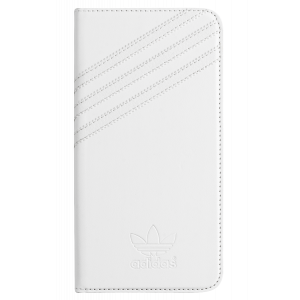 3-Stripes Booklet Case White/Gray iPhone