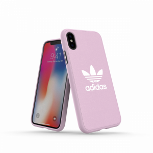 Trefoil Snap Case Pink / White iPhone