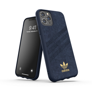 3-Stripes Ultrasuede Snap Case for iPhone 11 Pro collegiate royal