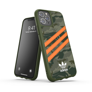 3-Stripes Snap Case Green/Orange iPhone