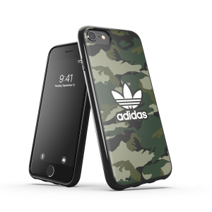 Camo AOP Snap Case Green iPhone
