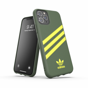 3-Stripes Snap Case Green/Yellow iPhone