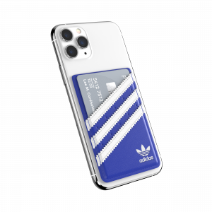 Universal pocket 3-stripes blue / white