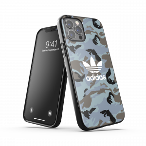 Camo Trefoil Case Blue iPhone