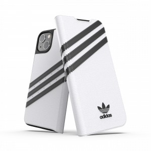 3-Stripes Booklet Case White iPhone 13