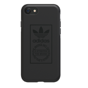 Trefoil Hard Cover Black for iPhone