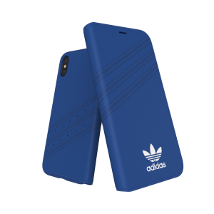 3-Stripes Booklet Case Blue iPhone