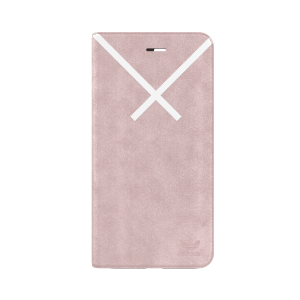 XBYO Booklet Case Pink / White iPhone