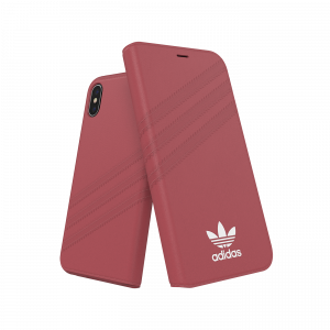 3-Stripes Booklet Case Red iPhone
