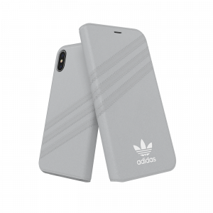 3-Stripes Booklet Case Gray iPhone