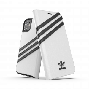 3-Stripes Booklet Case White iPhone