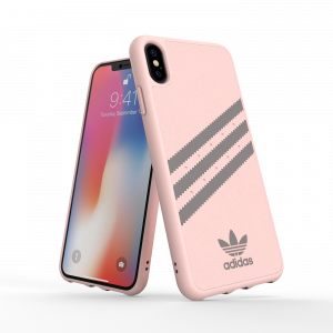 3-Stripes Snap Case Gray / Pink iPhone
