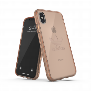 Trefoil Clear Case Rose Gold iPhone