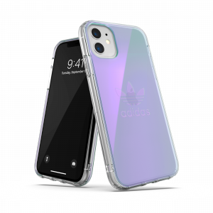 Clear Trefoil Case Multi Color for iPhone