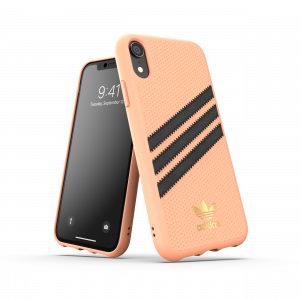 3-Stripes Snap Case Black / Orange iPhone