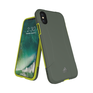 Solo Case Gray / Yellow iPhone
