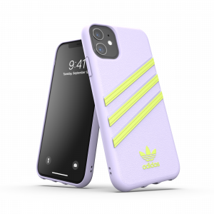 3-Stripes Snap Case Purple / Yellow iPhone