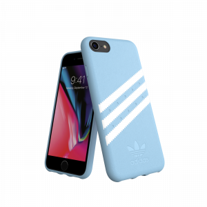 3-Stripes Snap Case Blue / White