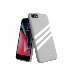 3-Stripes Snap Case Gray / White