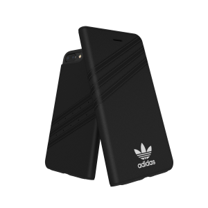 3-Stripes Booklet Case Black