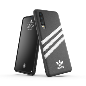 3-Stripes Snap Case Black / White Huawei